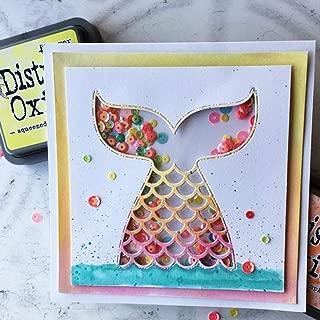 Cutting Dies - Mermaid Fish Tail Metal Cutting Die Scrapbooking Embossing Stencil Card Album Book Decoration Knife - Paper Scrapbooking Love Holtz Stamp Animals Shoe Sets Alphabet By