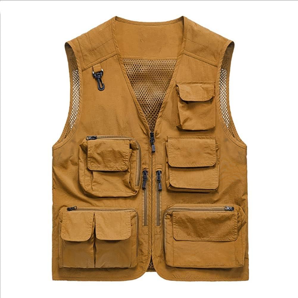 Fishing Daily bargain sale Vests Miami Mall for Men Photography Vest Multi-Pocket
