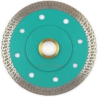 Porcelain Blade,Stylish Y&I Tile Blade Super Thin Ceramic Diamond Saw Blades for Grinder Tile Cutter With Adapter 7/8
