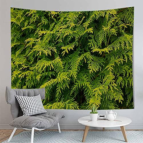 PPOU 3D arazzo foglia Verde piante Tropicali appeso a parete decorazione Della parete Della casa arazzo sfondo panno appeso panno A13 150x200cm