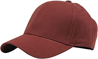 JAMONT Unisex Cotton Adjustable Plain Hat Baseball Cap Multi Colors