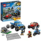 LEGO City Dirt Road Pursuit 60172 Building Kit (297 Pieces) (Discontinued by Manufacturer)