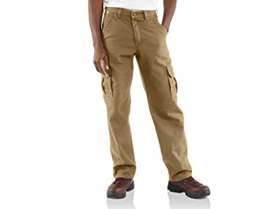 Carhartt Flame-Resistant Canvas Cargo Pants (Golden Khaki) Men