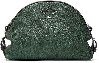 New Leather Handbag Women's Simple Chain Messenger Bag One-Shoulder Shell Ladies Bag(FM),B