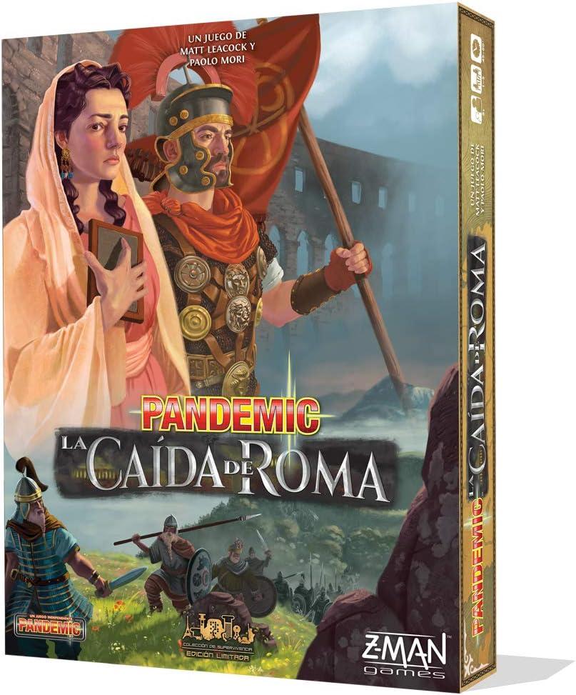 #Juegodemesa Pandemic: La caída de Roma por 47,75€