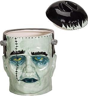 Pacific Giftware Frankenstein Head Ceramic Cookie Jar