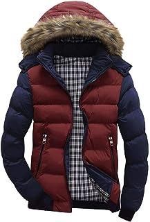 Men Jacket Windproof Puffer Jackets Sweatshirt Coat Hoodie Warm Winter Hooded Long Parka Coat Softshell Overcoat Outwear B...