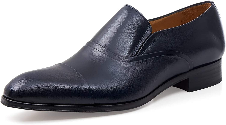 Plain Slip -on Toe Cap Leather skor TS 35 35 35  omtänksam service
