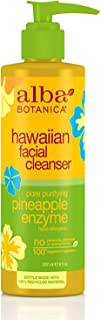 Alba Botanica Hawaiian Facial Cleanser, Pineapple Enzyme, 8 Fl Oz
