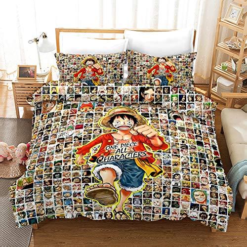 ropa de cama anime de la marca LXHQ
