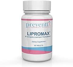 LIPROMAX Lipotropic Vitamin B Complex w/Lipotropic Factors: Lipotropic Weight Loss and Fat Burner