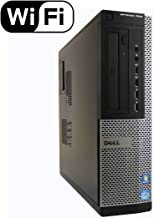 2018 Dell Optiplex 7010 Small Form Factor Desktop Computer, Intel Quad-Core i7-3770 Up to 3.9GHz, 16GB RAM, 2TB 7200 RPM HDD, DVD, USB 3.0, WIFI, Windows 10 Pro (Renewed)