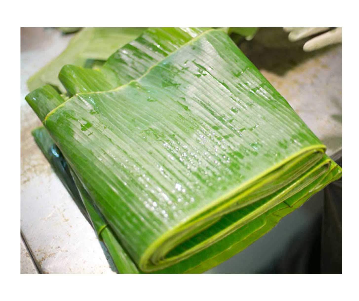 Fresh Banana Leaves 1 Lb. Hoja de Platano