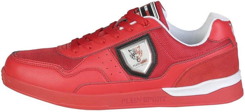 Plein Sport Sport Sport skor Basse skor herrar röd (MSC0314SXV001)  Beställ nu med stor rabatt och gratis leverans