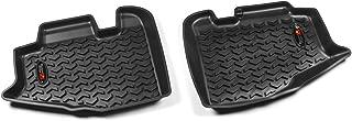 Rugged Ridge All-Terrain 12950.10 Black Second Row Floor Liner For Select Jeep Wrangler Models