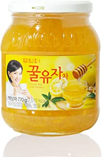 DAMTUH Honey Citron Tea, Citron Tea with Honey, 1 Bottle 27.16 Oz (770g)