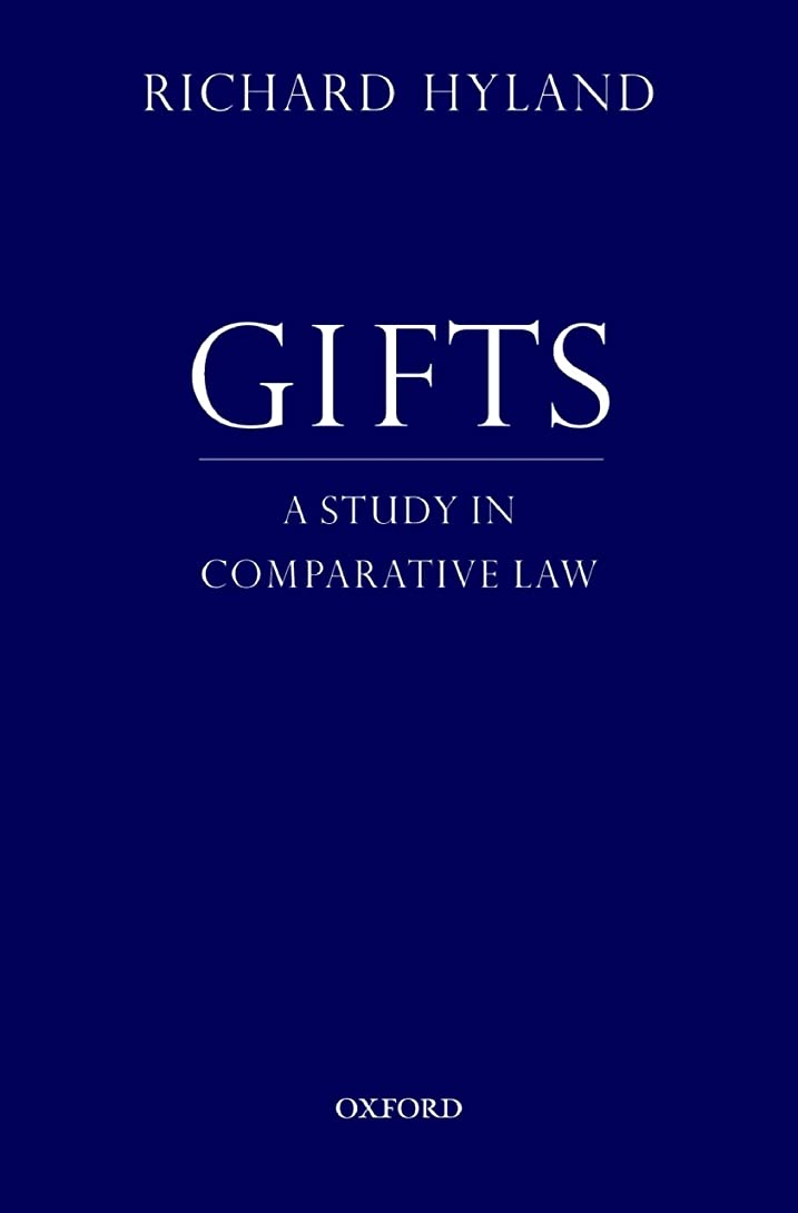 沿って常識カレッジGifts: A Study in Comparative Law (English Edition)