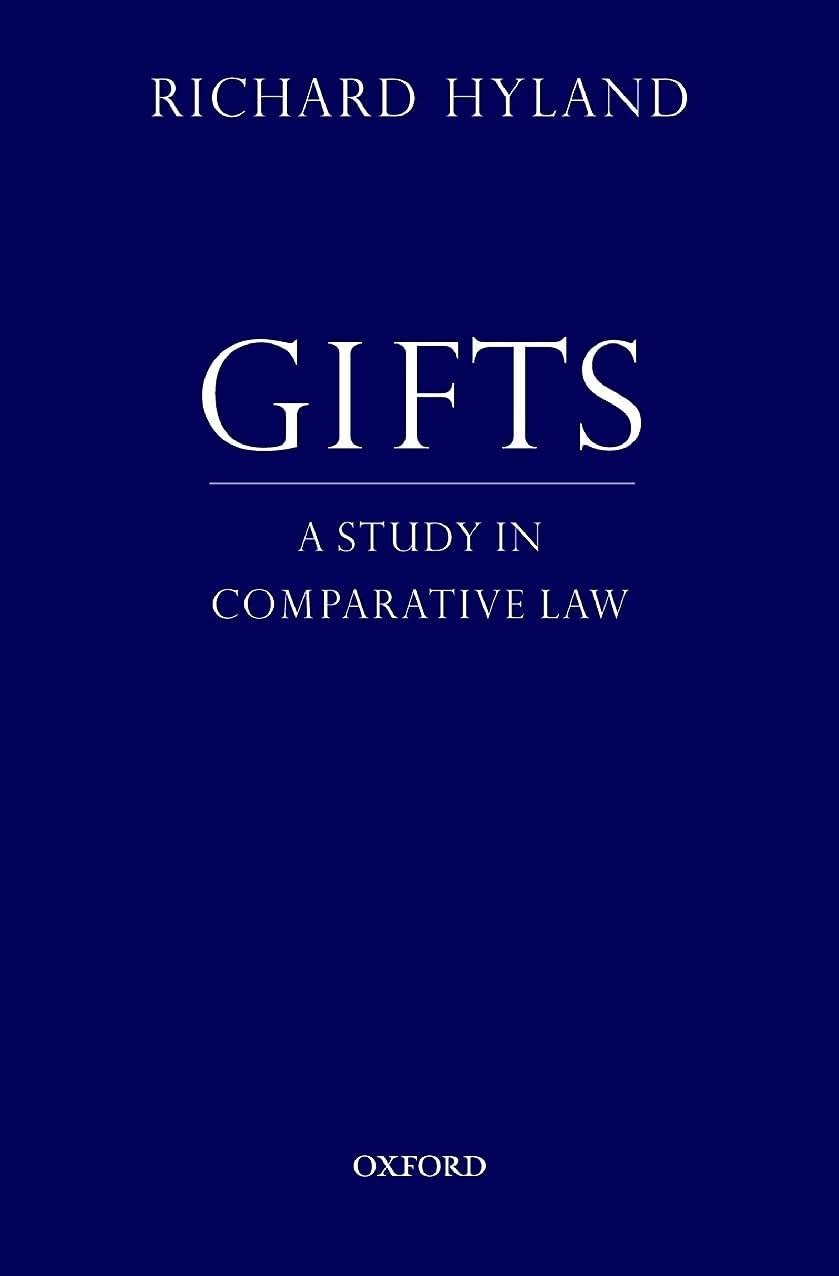 パースシャッター旋律的Gifts: A Study in Comparative Law (English Edition)