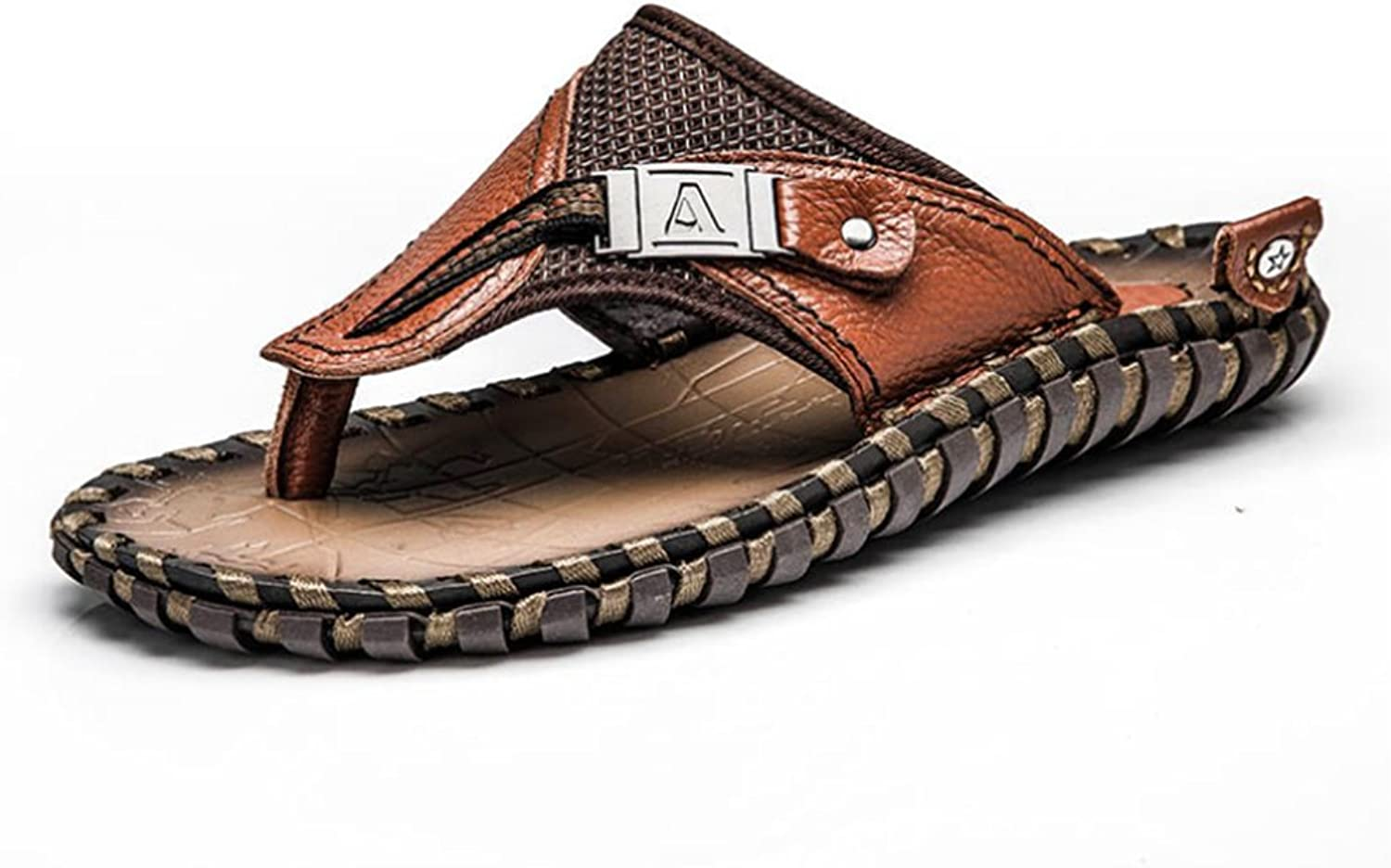 Sandals Men's Flip-Flop Thong With Arch Support Light Weight Beach Slippers