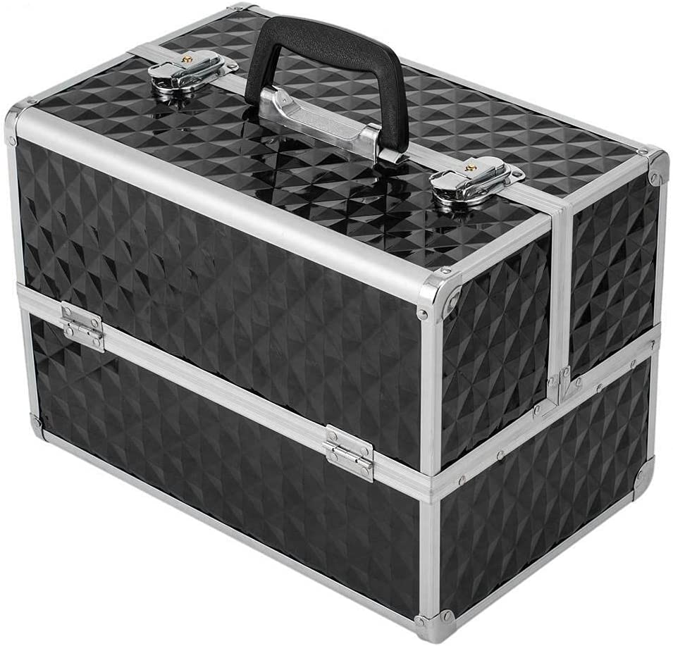 Makeup Train Case 13.5 inch Large Cosmeti Cosmetic Portable Direct Discount is also underway sale of manufacturer