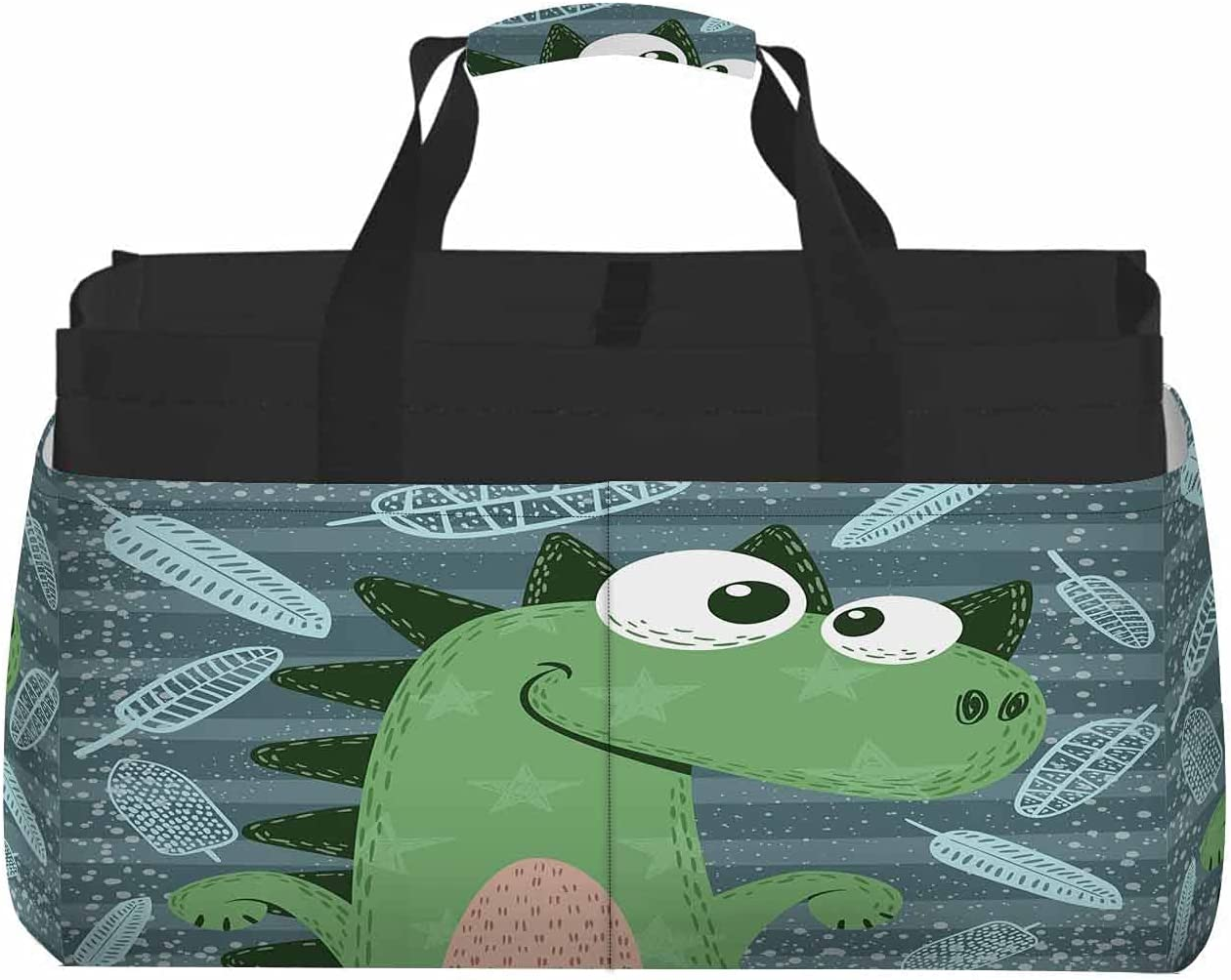 Max 44% OFF Nicokee Houston Mall Large Capacity Portable Storage Bag Cute Din Crazy Funny