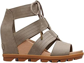 da50c5547509 Amazon.com  Green - Platforms   Wedges   Sandals  Clothing