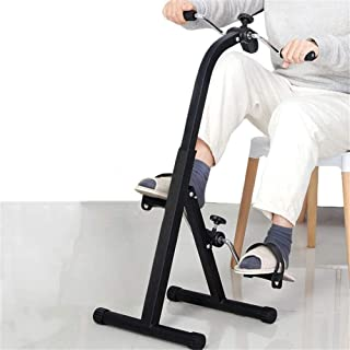 Folding Pedal Exerciser with Multifunctional LCD Display Mini Arm Leg Exercise Bike Foot Hand Cycle Portable Stationary Pe...