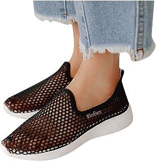 95sCloud - Zapatillas para mujer de verano, de malla transpirables, para el tiempo libre, para caminar, senderismo, vacaci...