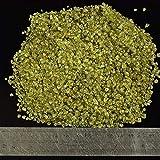 SKTNB Pietra frantumata Pietra preziosa di olivina Pietra Minerale di Roccia Chips Pietra burattata Decorazioni per la casa Crystal Healing Gram Natural