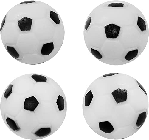 discount Sunnydaze new arrival Foosball Table Replacement high quality Balls 36mm Standard Size, 4 Pack outlet online sale