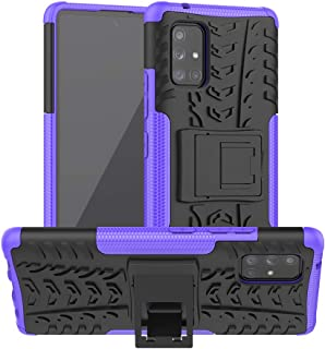 SKTGSLAMY Galaxy A71 5G Case,Samsung A71 5G Case,[NOT fit A71 5G UW Verizon] [Shockproof] Tough Rugged Dual Layer Protecti...