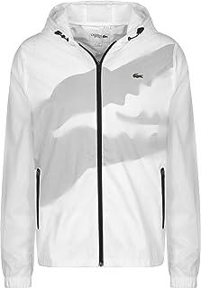 432743e5fe Lacoste - Blouson Hommes Veste (Blanc)