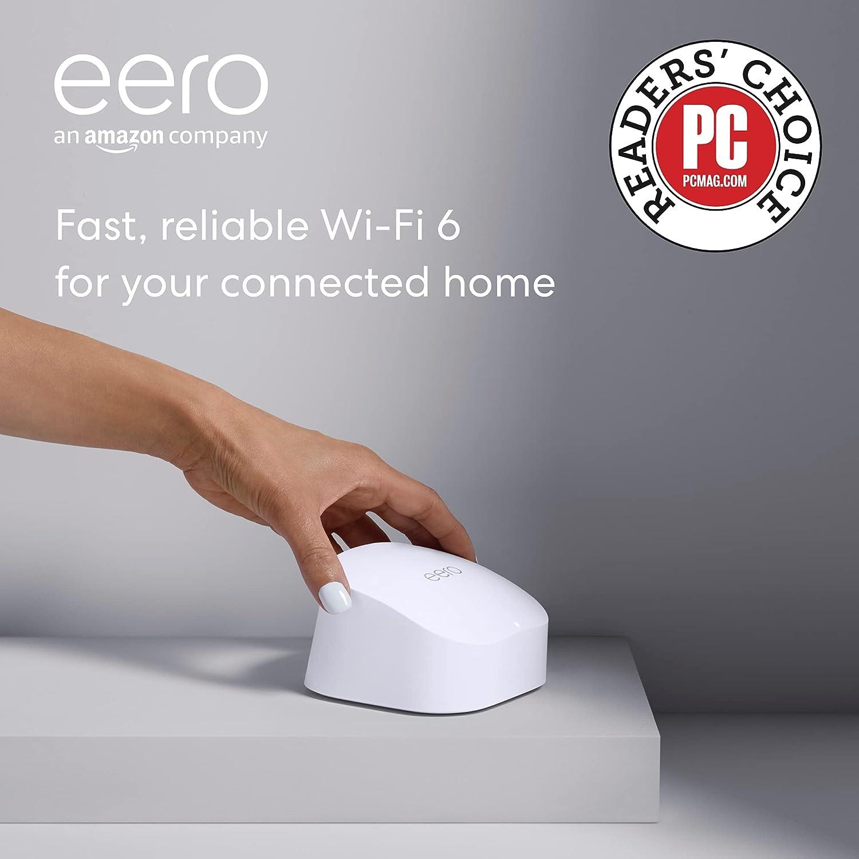 eero 6 dual-band mesh Wi-Fi 6 router $90 Coupon