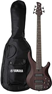 Best Yamaha 5 String Bass Guitar, Right Handed, Translucent Brown, 5-String (TRBX505 TBN) Review