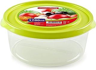 حافظة طعام بلاستيكية فورتيه - اخضر