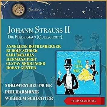 Johann Strauss II: Die Fledermaus (Querschnitt) (10 Inch Album of 1955)