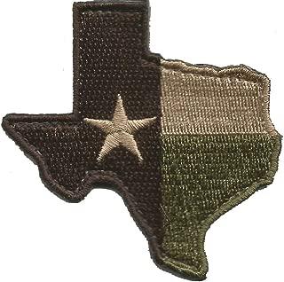 Die-Cut Tactical Texas Patch - Multitan
