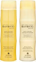Bamboo Smooth Anti-Frizz Shampoo and Conditioner Set, 8.5-Ounce