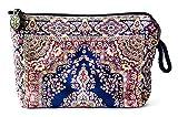 Oriental Carpet Woven Cosmetic Makeup Bag - Balouchi Collection