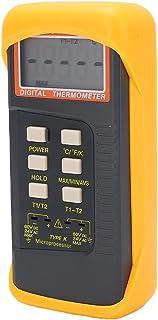 Thermomètre, Thermomètre Couvercle Antichoc Double Canal pour Bureau pour Intérieur pour Maison