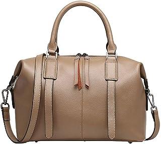 ZHCWT Handbag,Fine bag,Women's Handbag Simple Versatile Shoulder Bag Fashion Casual Crossbody Bag Large Capacity Handbags Work Shopping (Color : Beige)