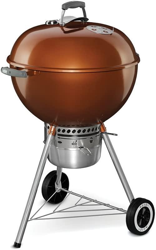 Weber 14402001 Original Kettle Premium Charcoal Grill 22 Inch Copper