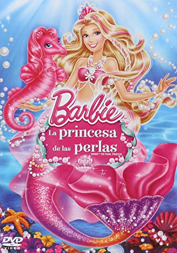 Barbie la Princesa de las Perlas(Barbie Pearl Princess) [DVD]