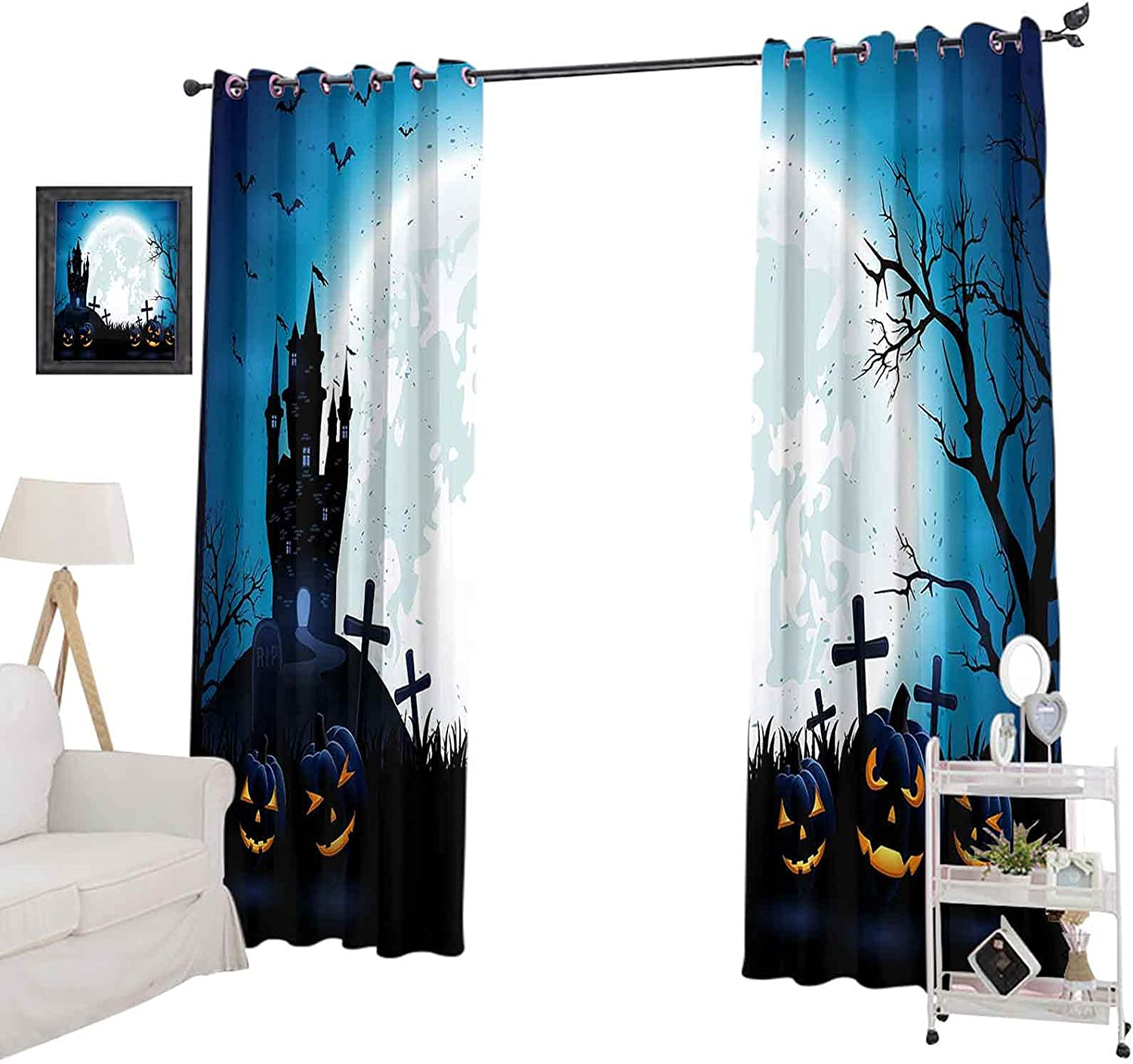 Thermal Insulated Curtains Now on sale Drapes 108 Darkeni specialty shop Room Inches Long