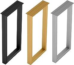 Metalen tafelpoten X1, vervangende steunpoten voor eettafel en bar, accessoires voor doe-het-zelfmeubels, hoogte 70 cm/100...