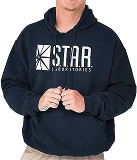 star labs hoodie navy blue