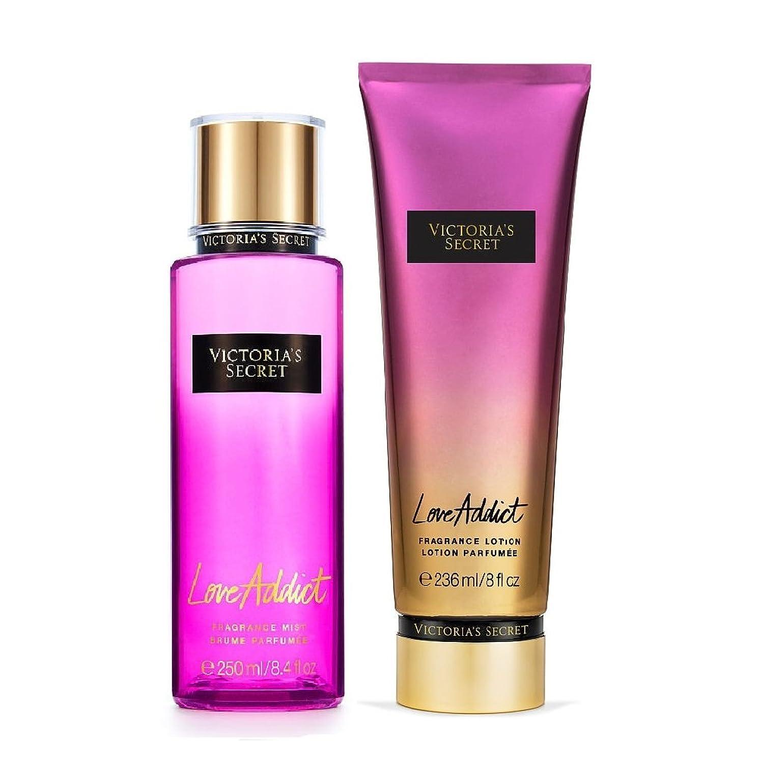 メニューベースジムフレグランスミスト&フレグランスローション LoveAddict Victoria'sSecretFantasies FragranceMist & FragranceLotion ヴィクトリアズシークレット Victoria'sSecret (49.ラヴアディクト/LoveAddict) [並行輸入品]