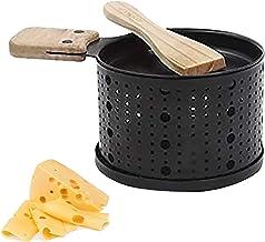 STRIR Une Raclette à la Bougie, Appareil a Raclette avec Spatule Bois Inclues, Faites Fondre Votre Fromage en 3 Minutes, D...