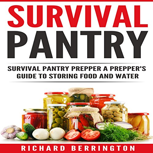 Survival Pantry audiobook cover art