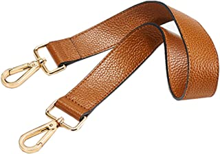 E Support Purse Straps Replacement Leather Handbags Shoulder Bag Wallet DIY 24.80 Inch Long (Brown)